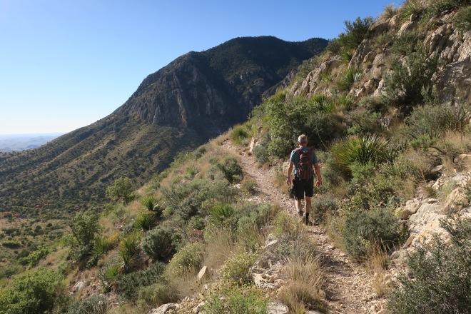 Doyle on Tejas Trail