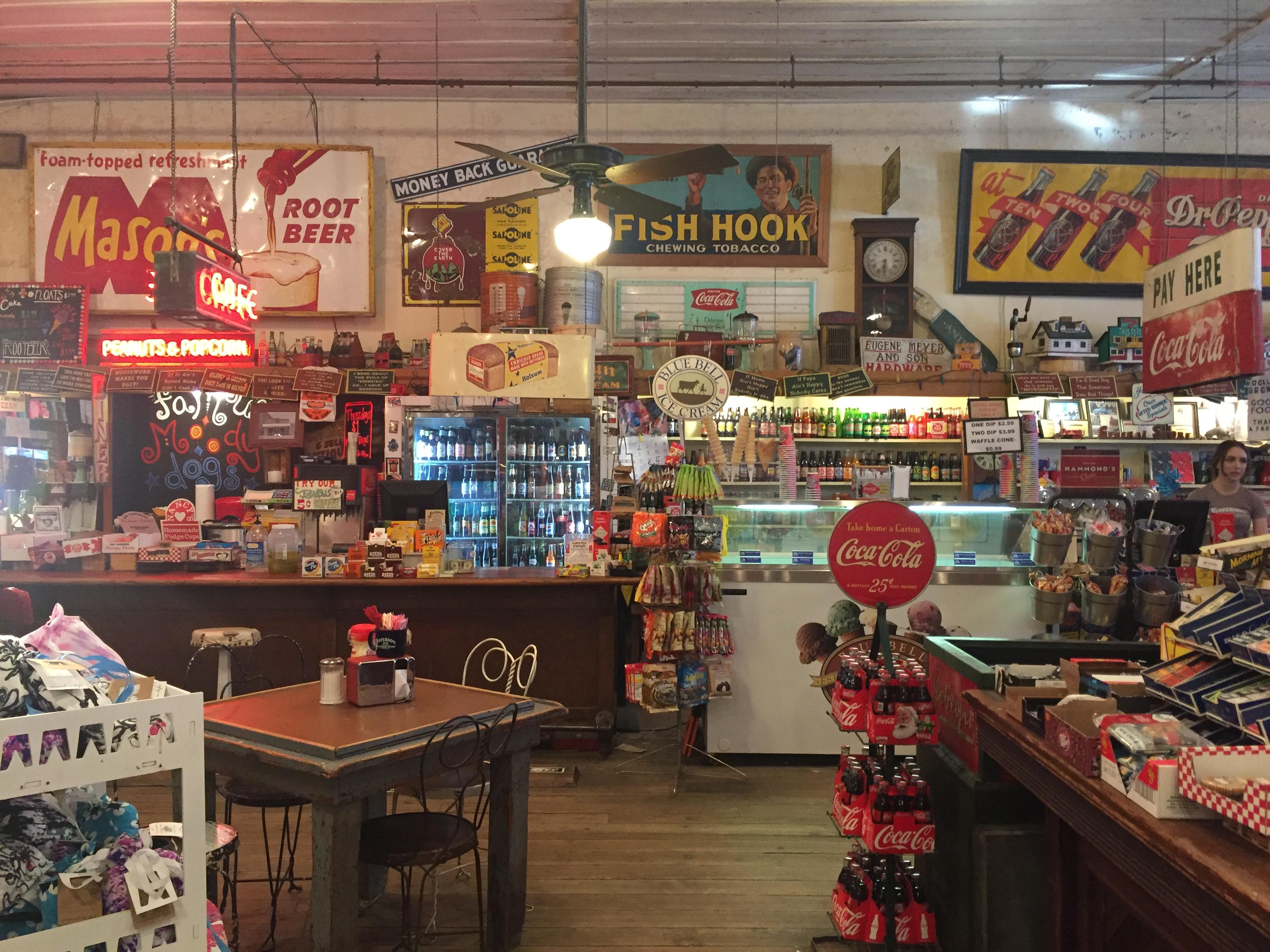The Jefferson General Store Explore Texas