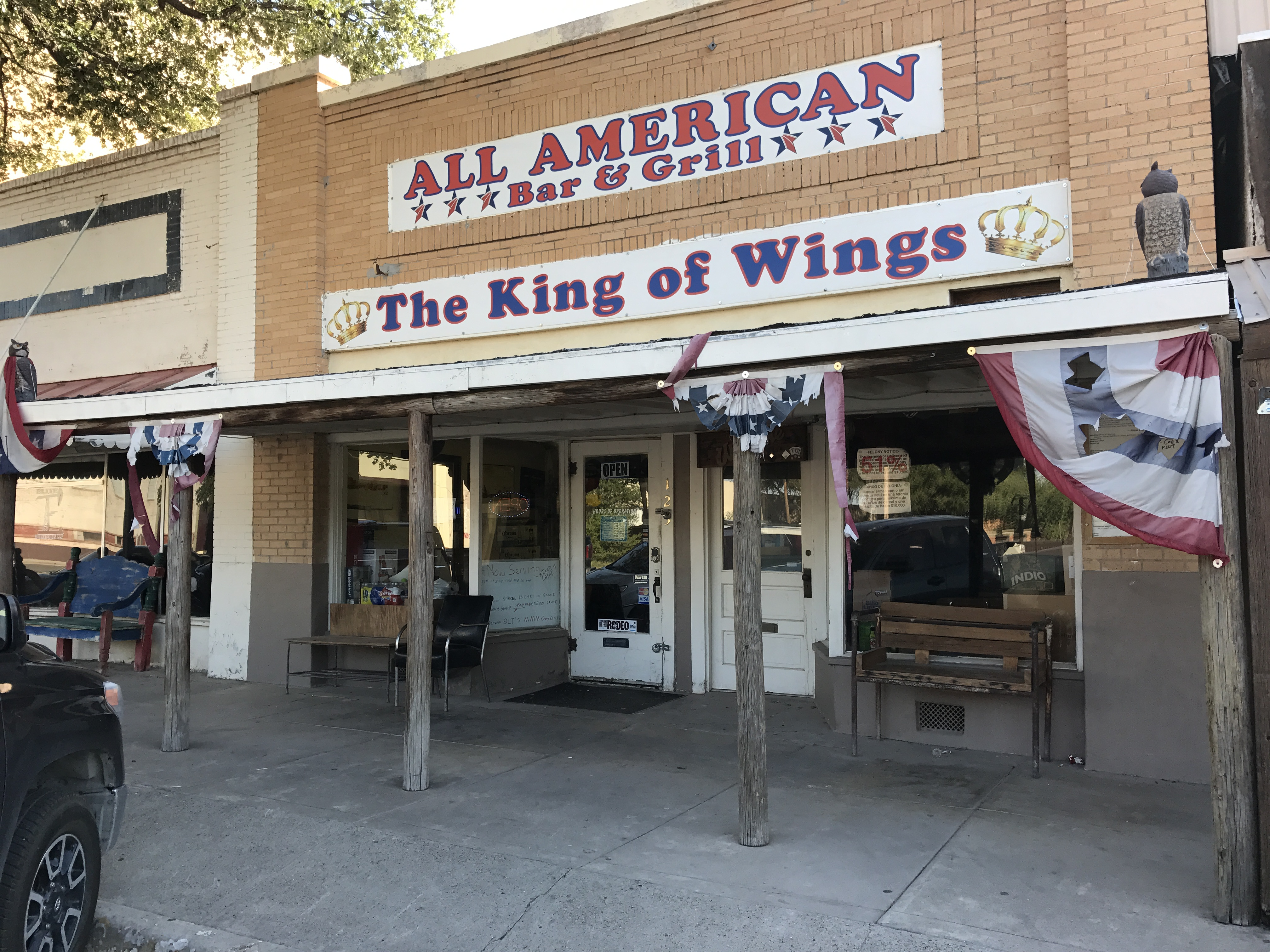 All american bar and grill explore texas - American grill restaurant ...