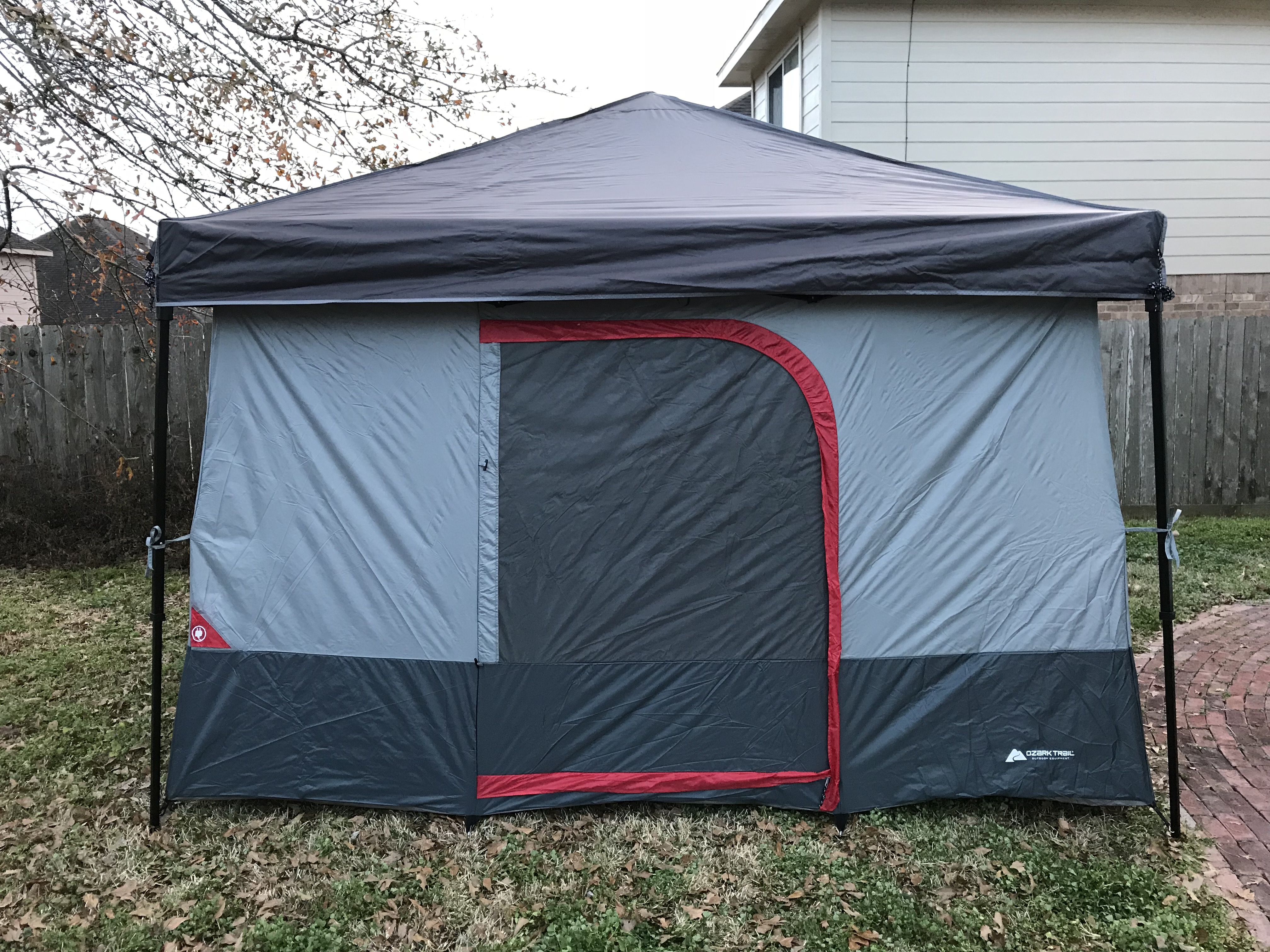 After doing some research I found a very affordable version of this tent u2014 the Ozark Trail ConnecTent. So I placed my order on Amazon and then waited with ... & My Ozark Trail ConnecTent u2013 Explore Texas