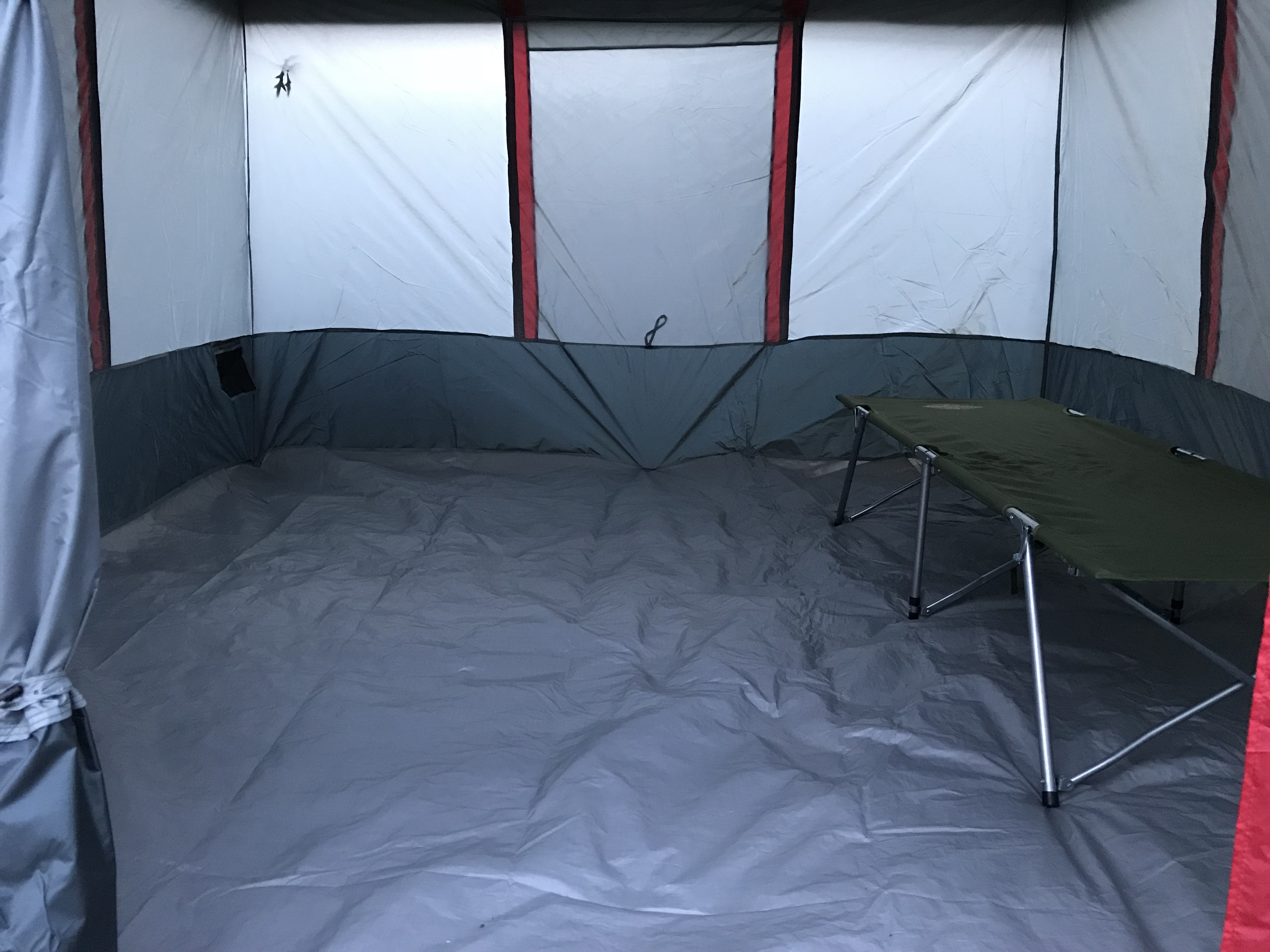 The inside of the tent is huge. I set up my c&ing cot just to get a feel for the interior space. Love the spaciousness of this tent. & Tents u2013 Explore Texas