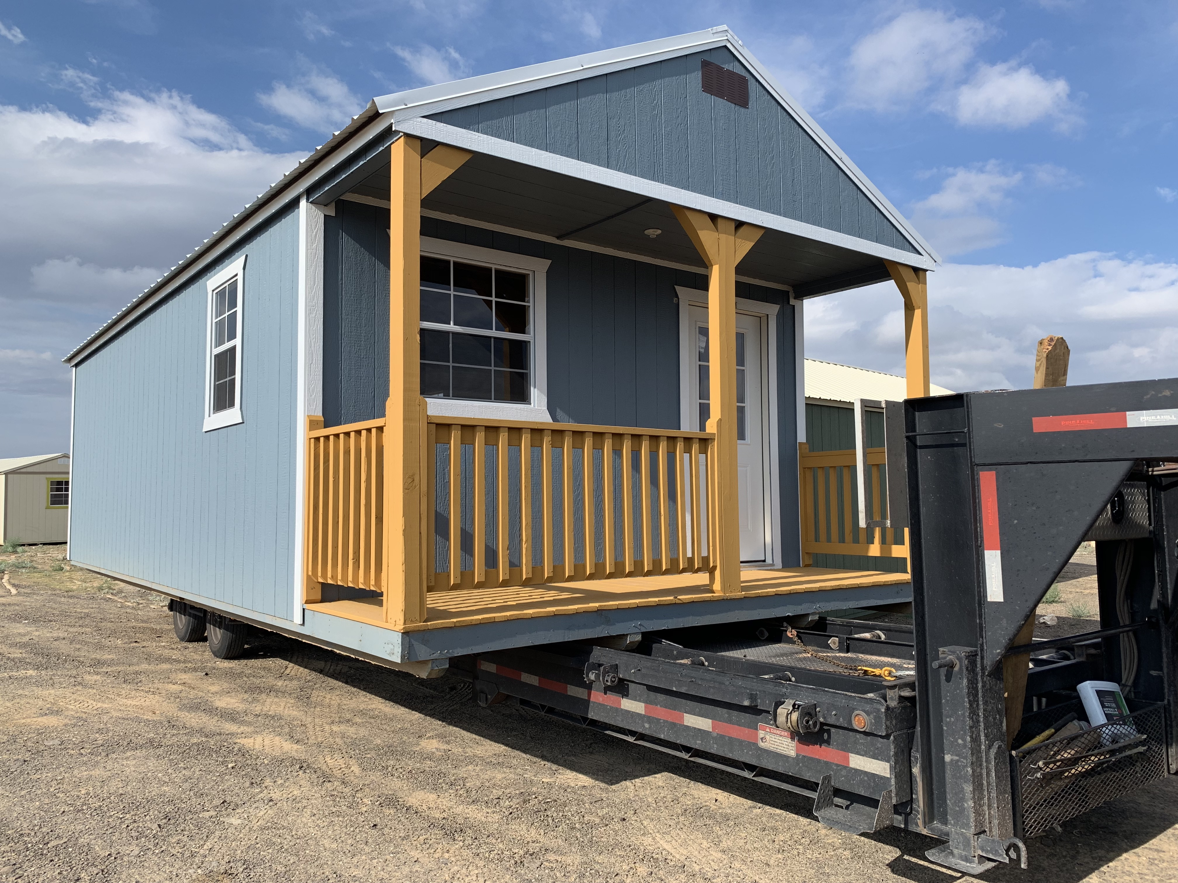Our Off-Grid Cabin Delivered – Explore Texas